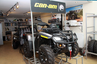 Cumbria ATV Showroom