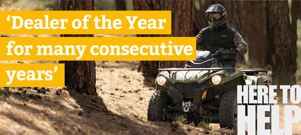 can-am Dealer of the Year