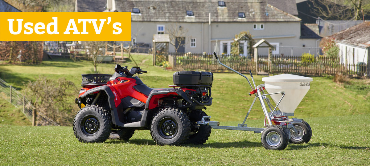 Used ATVs from Paul Chuter in Cumbria